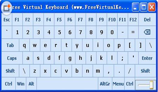 Free Virtual Keyboard绿色版下载