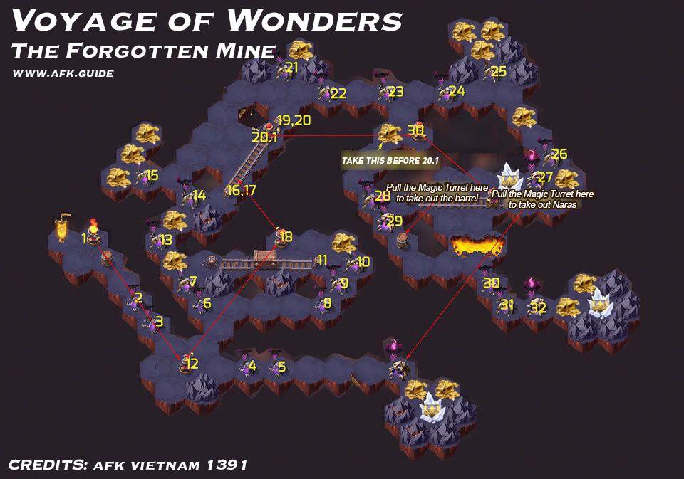 《剑与远征》时光之巅地渊洞窟关卡攻略