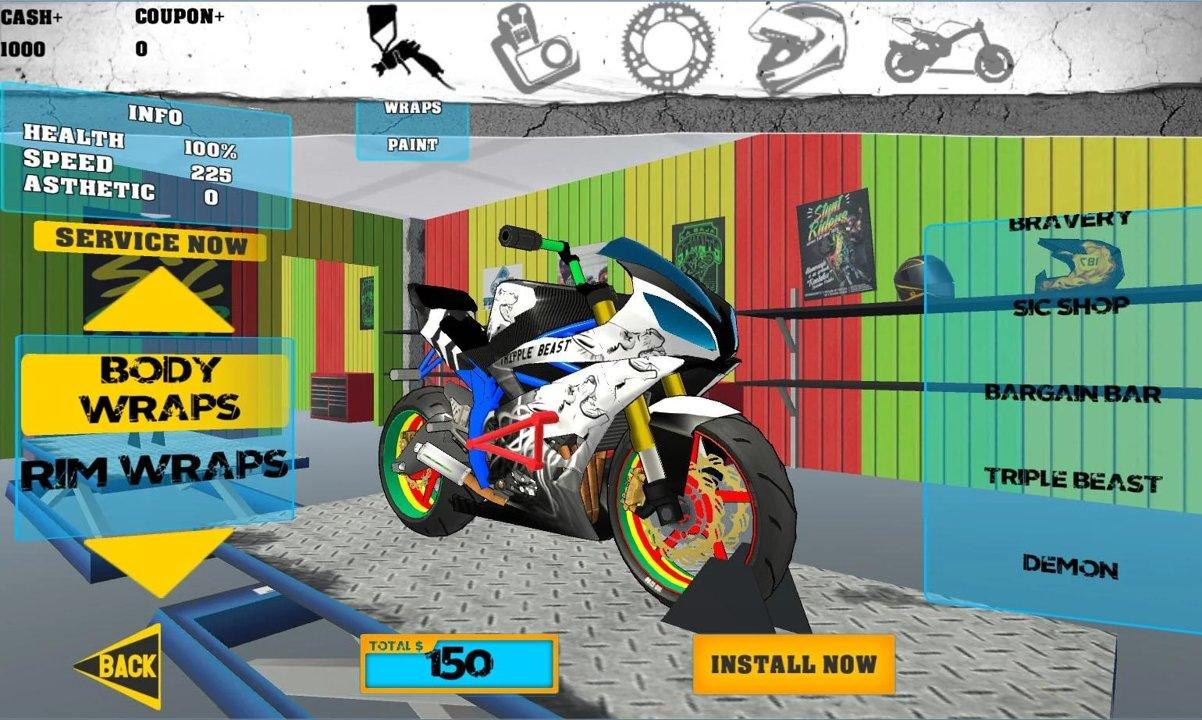特技摩托车安卓版