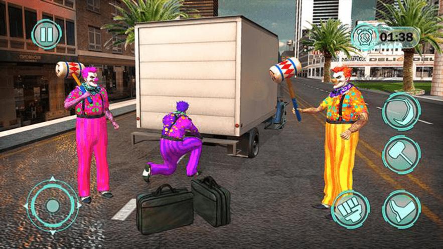 尖叫小丑吓人游戏下载