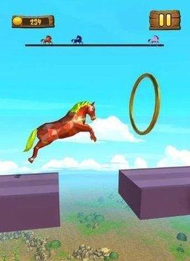 赛马趣味竞赛3D游戏