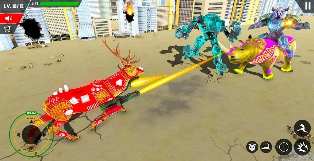 真实鹿机器人猎杀安卓版下载