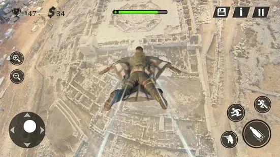现代战场战争游戏