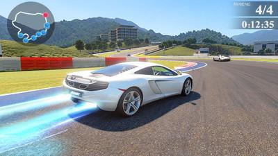高速交通赛车3D游戏
