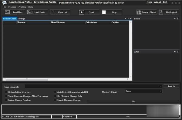 图像批量处理(Batch It Ultra) v6.00官方版