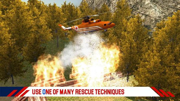 消防直升机救援游戏下载