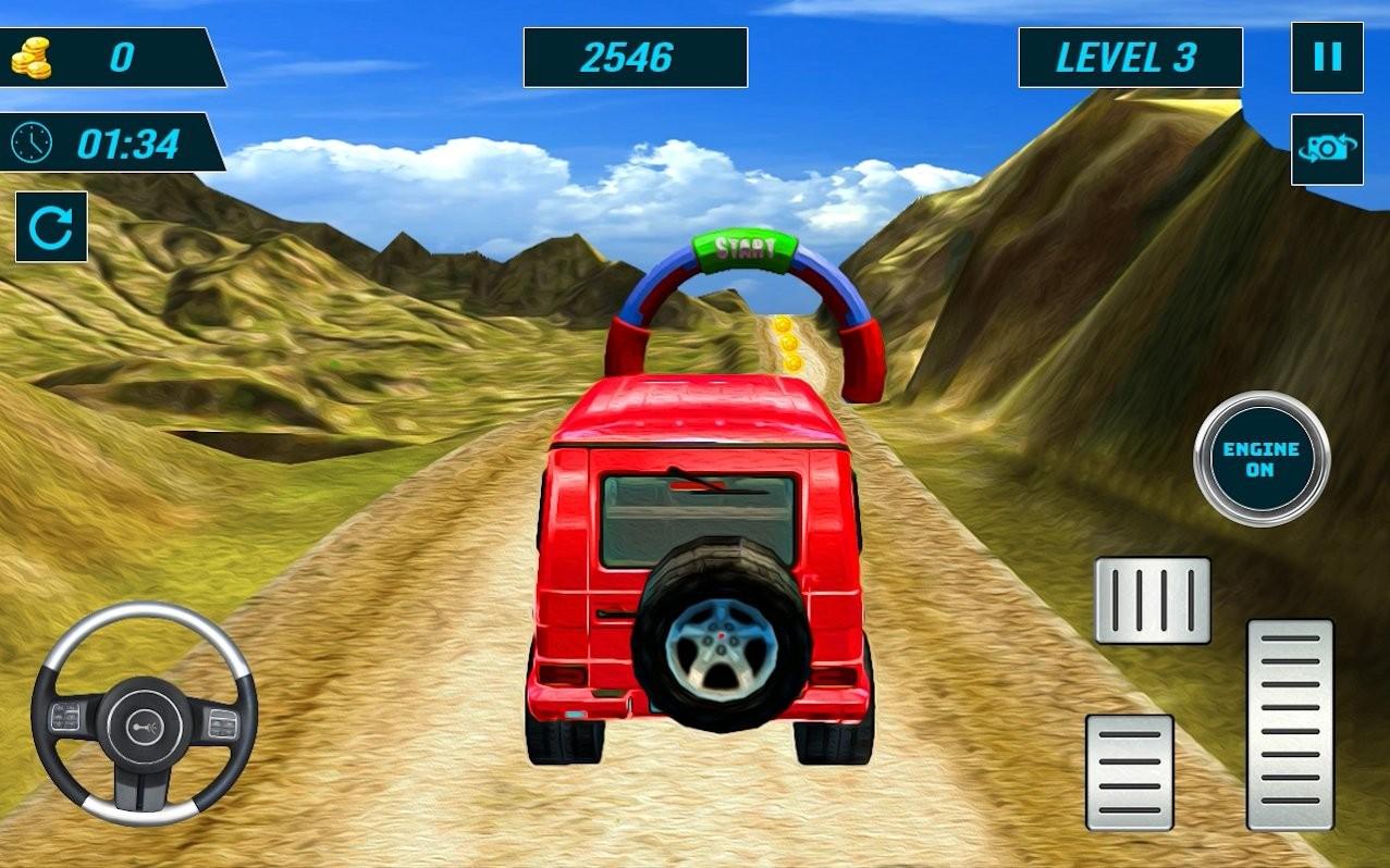 爬山赛车狂热游戏下载
